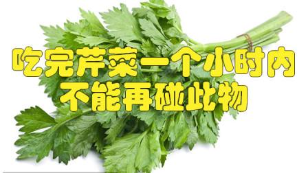 吃完芹菜一个小时内,不能再碰此物,吃了就是给健康找不自在