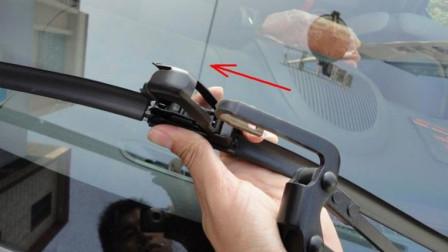 雨刮器总是刮不干净怎么办?这样简单处理一下,就和新的效果一样