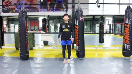 跟我学习侧踹腿,大家想要学习搏击的,要认真学习哦