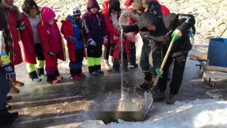 脚印中国.走进冰天雪地游学之旅 -松花江捕鱼