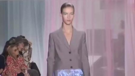 有看点的春夏时装秀,超模身材很正穿搭美如画!