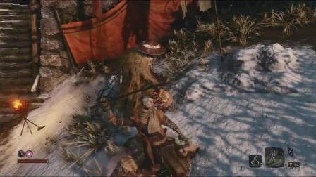最骚《只狼:影逝二度》赤鬼的正确速杀方式,新手也可以学习下