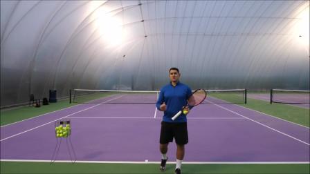 如何在网球发球中轻松产生力量学会这几点轻松学会!