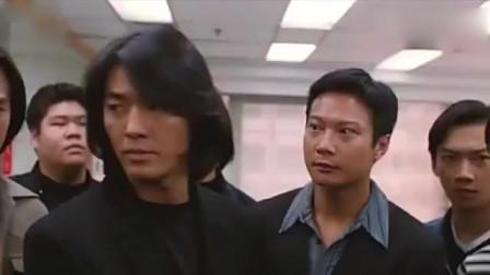 古惑仔陈浩南被抓,东星趁机闹事,没想到洪兴这么猛!