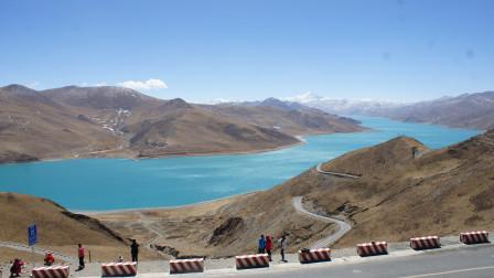 羊卓雍湖的蓝