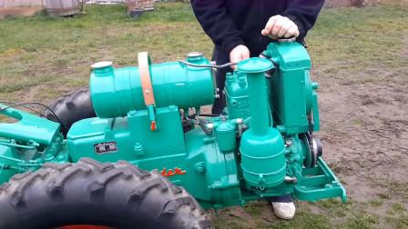 外国农村使用的拖拉机,怎么是这种样子?你知道吗