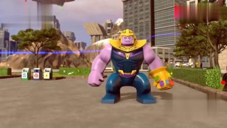 乐高超级英雄变身灭霸换装秀动画,简直就是乐高版的模特秀啊
