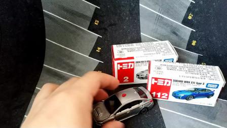 多美卡TOMY 红白盒2号车 斯巴鲁WRX S4