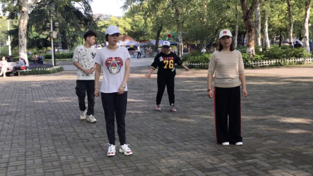 鬼步舞《前飘后飘》教学,简简单单16步,轻轻松松就学会!