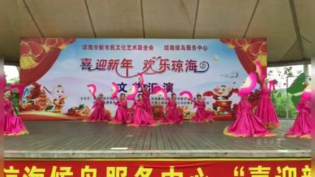 海南省琼海市东北人舞蹈队佳作