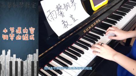 了解钢琴的魅力,从钢琴组成开始,你知道七五式音基吗?