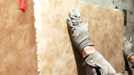 干挂瓷砖阳角处需要加胶 以增加强度和韧性