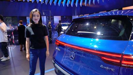 绝对不会漏机油的奔驰,纯电动SUV EQC静态体验!