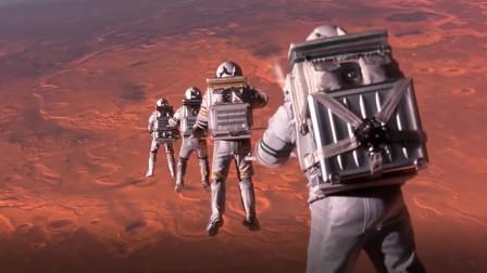 宇航员在火星遇到袭击,众人去解救,可途中飞船遭陨石击穿