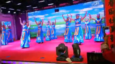 东北松原江北公园舞蹈队《拉萨夜雨》