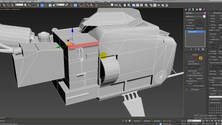 3dmax建模--第60节飞行器上端圆柱部分展uv