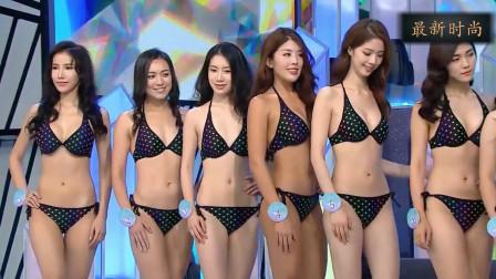 上海超模选秀大赛2019,所有超模一起出场,看了一遍又一遍