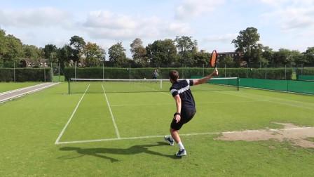 告诉你专业网球手是如何练习的,你也可以试着练习,对你会有帮助的