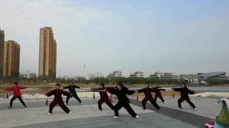 42式太极剑(潍坊滨海太极东城队)