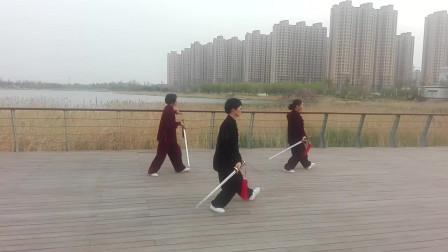 32式太极剑(潍坊滨海拳友演练)