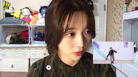 蔡徐坤一段跳舞打篮球的视频火到了韩国,韩国妹子是怎么评价的?