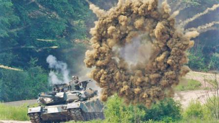 日本自卫队战力到底行不行啊?看他们火力演示就知道是不是一个笑话!