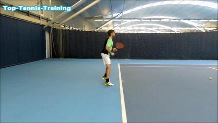 慢动作教你简单的网球正手,零基础好学易上手(一)