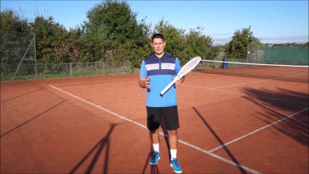 如何在网球运动中崛起,教你一个战术,网球地滚球法