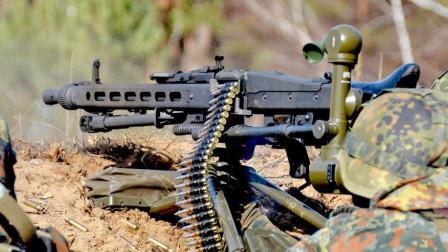 每分钟射速可达1300发 德国品质出产MG3通用机枪