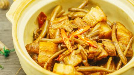 茶树菇烧个肉也很美味噢!