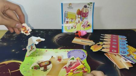二木玩具19:玩具拼图。小猪佩奇来拼图了