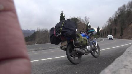 独行天涯海角023,骑摩托走遍中国,在湖北遇到了何首乌骗局