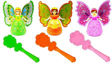 超可爱的蝴蝶美少女玩具