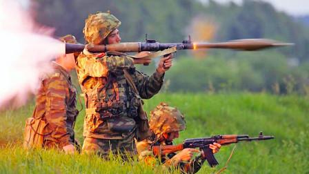 RPG火箭筒战争神器, 上打飞机, 下打坦克,打航空母舰呢?
