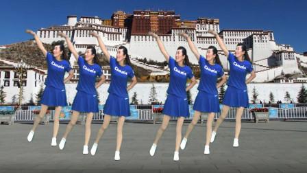 2019年最时尚的基督教广场舞 原创《尽情来赞美》歌劲舞爆 好听好看 编舞 演示:健康一生