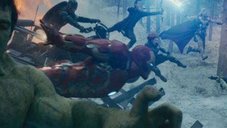 复仇者联盟系列最精彩的打斗长镜头,神仙打架,鬼才调度!