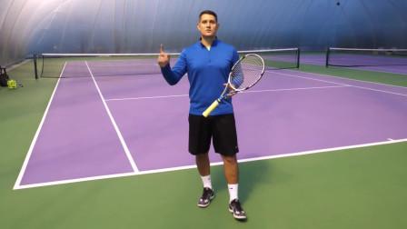 网球反手力量技巧很重要,快来学习吧!
