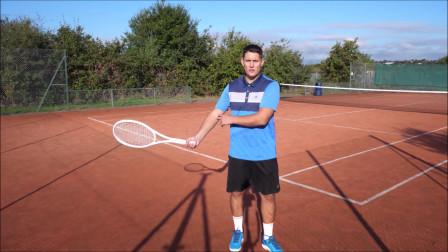 网球正手接触时,如何正手击球,手把手教你