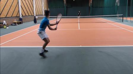 西蒙和亚历克斯vs马耳他戴维斯杯球队,网球双打比赛,都很棒(2)