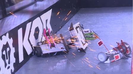 铁甲格斗纵使一身好功夫,也顶不住多机混战啊
