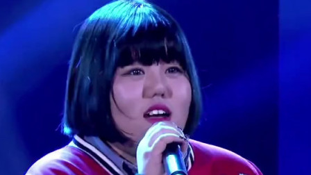 韩红经典《天亮了》,胖胖女孩深情演唱,嗓音极具穿透力,太好听