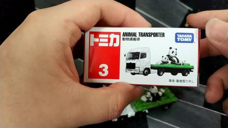 多美卡TOMY 红白盒3号车