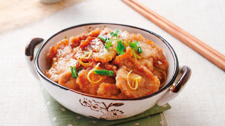 锅包肉最正宗的做法,只要注重这一点,新手也能做成功,不外传