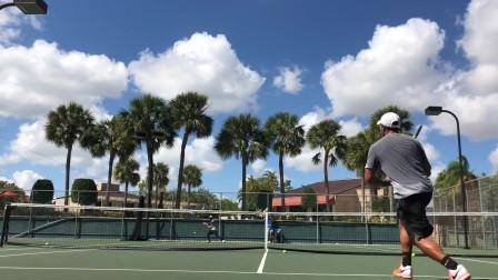 手把手教你网球技巧,助攻和凌空射门,高性能专业训练!