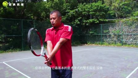 网球教程:握拍和反拍