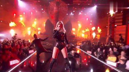 泰勒斯威夫特Taylor Swift(2018全美音乐奖现场)-国语1080P