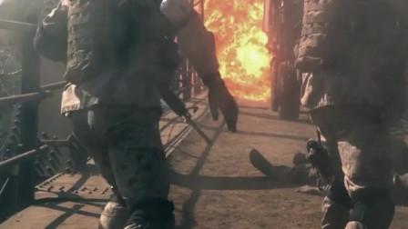 海豹突击队敌后作战 AK47人手一把疯狂射击 重火力武器狂轰乱炸