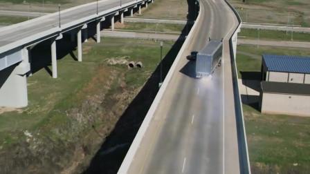 巨石强森大战毒枭 欧洲大卡车横冲直撞 全程激情刺激 碾压一切