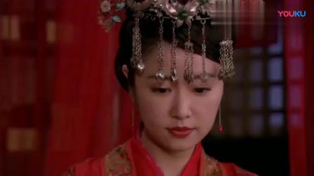 精忠岳飞:林心如盛装出嫁,这个新娘妆太美了,烛火下更好看!