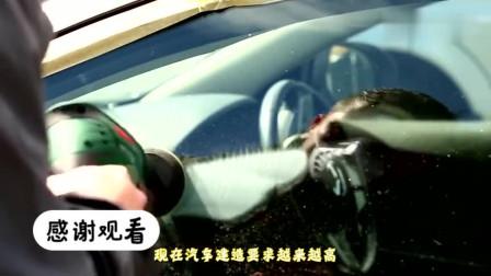 为啥好车都装贵几倍的夹胶玻璃?看完制造过程,才知道钱花的不冤!